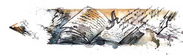 Kalligrafie Grundausstattung für den Einsteiger