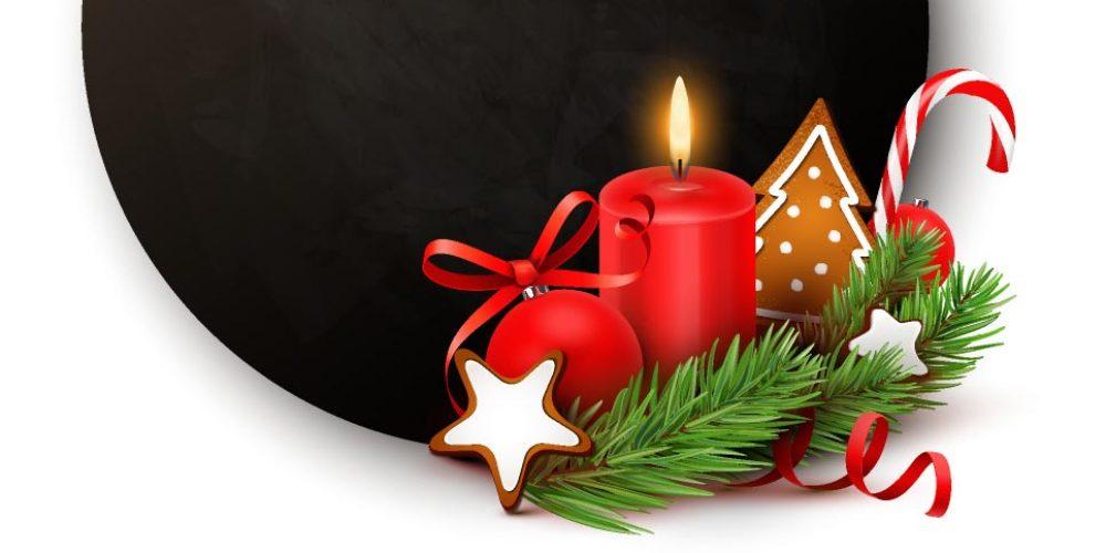 Das erste Kerzenlicht im Advent