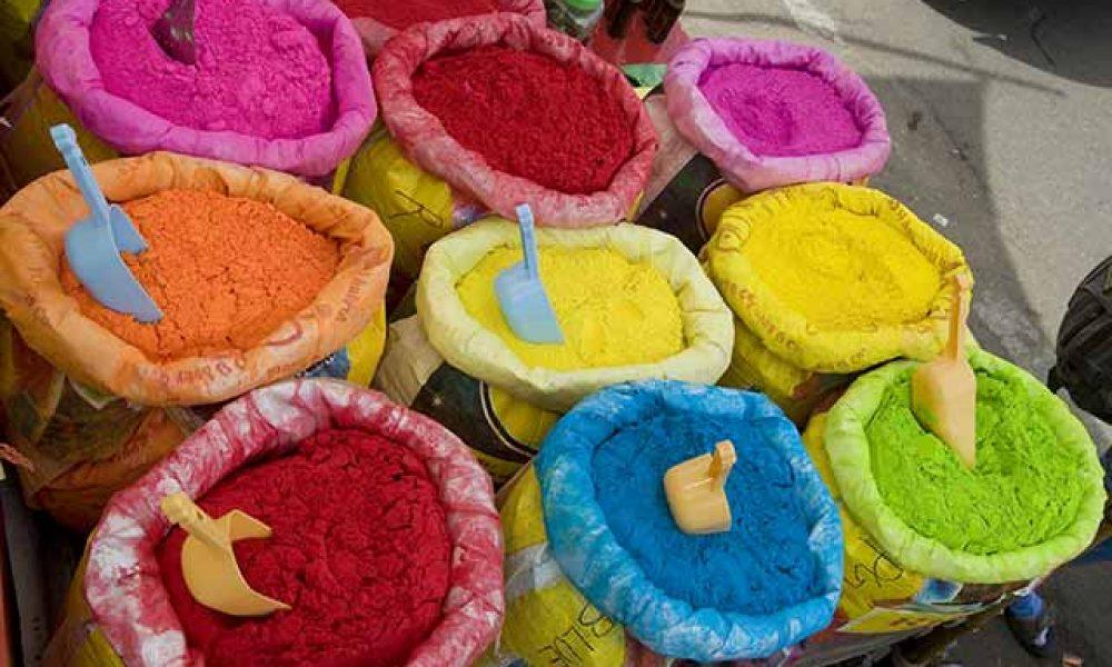 Holi Festivals der Farben