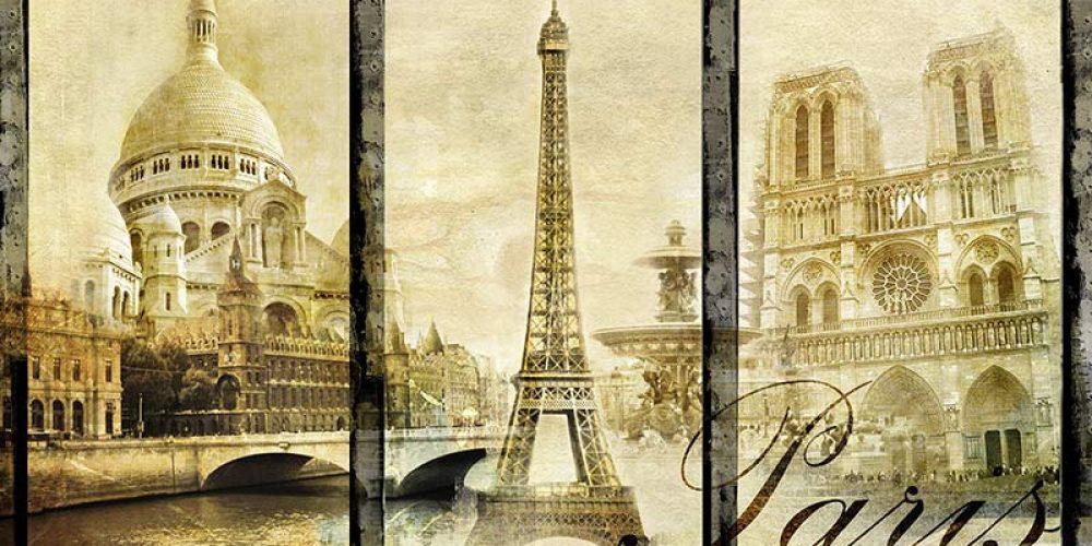 Postkarten-Kunstdruck von Ölgemälden