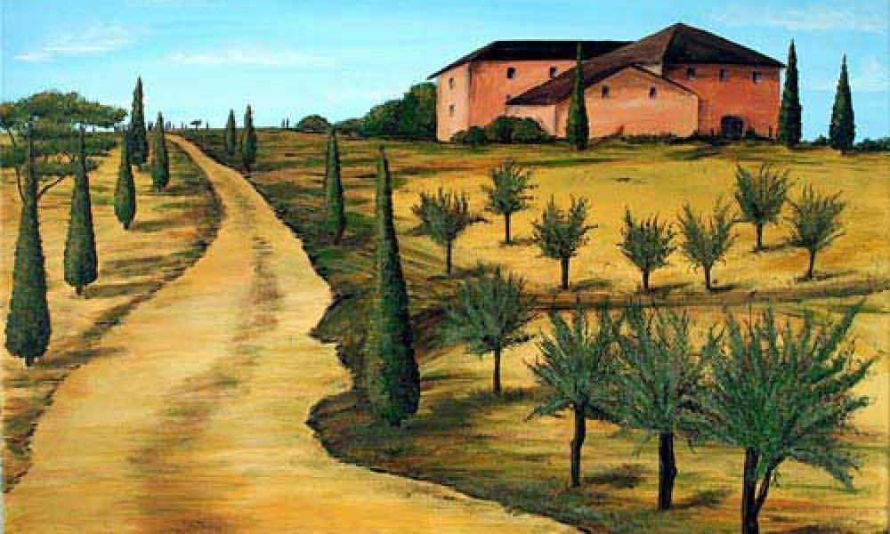 Die Farben der Toskana